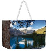 0164 Moraine Lake Weekender Tote Bag