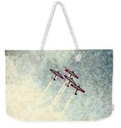 0166 - Air Show - Colored Photo 2 Hp Weekender Tote Bag