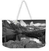 0166 Moraine Lake Weekender Tote Bag
