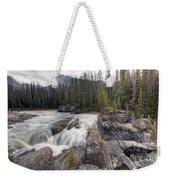 0182 Natural Bridge Waterfall Weekender Tote Bag