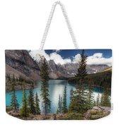 0184 Moraine Lake Weekender Tote Bag