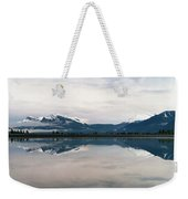 0188 Mountain Reflection Weekender Tote Bag