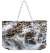 0190 Glacial Runoff 2 Weekender Tote Bag