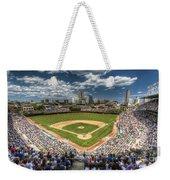 0234 Wrigley Field Weekender Tote Bag by Steve Sturgill
