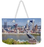 0240 Pittsburgh Pennsylvania Weekender Tote Bag