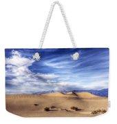 0292 Death Valley Sand Dunes Weekender Tote Bag
