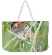 03 Balkan Copper Butterfly Weekender Tote Bag