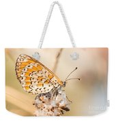 03 Lesser Spotted Fritillary Weekender Tote Bag