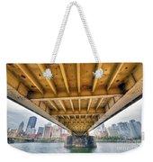 0309 Pittsburgh 4 Weekender Tote Bag by Steve Sturgill