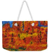 032 Abstract Landscape Weekender Tote Bag