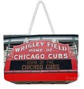 0334 Wrigley Field Weekender Tote Bag