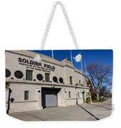 0417 Soldier Field Chicago Weekender Tote Bag by Steve Sturgill