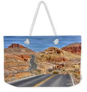 0445 Valley Of Fire Nevada Weekender Tote Bag