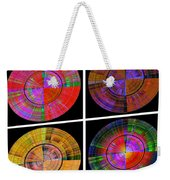 0454 Abstract Thought Weekender Tote Bag by Chowdary V Arikatla