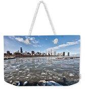 0486 Chicago Skyline Weekender Tote Bag