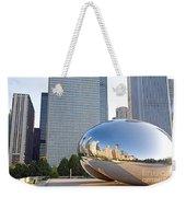 0553 Millennium Park Chicago Weekender Tote Bag