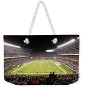 0586 Soldier Field Chicago Weekender Tote Bag by Steve Sturgill