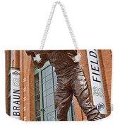 0620 Hank Aaron Statue Weekender Tote Bag