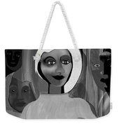 063 -  Little Pregnant Bride ... Weekender Tote Bag
