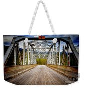 0649 Bow River Bridge Weekender Tote Bag