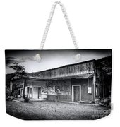 0706 Jerome Ghost Town Black And White Weekender Tote Bag