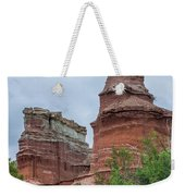 07.30.14 Palo Duro Canyon - Lighthouse Trail  19e Weekender Tote Bag