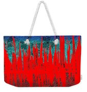 0738 Abstract Thought Weekender Tote Bag