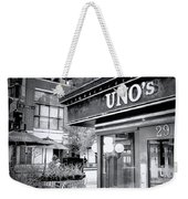 0748 Uno's Pizzaria Weekender Tote Bag