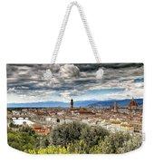 0753 Florence Italy Weekender Tote Bag