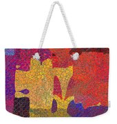 0787 Abstract Thought Weekender Tote Bag
