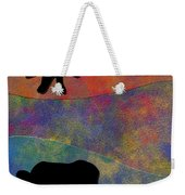 0864 Abstract Thought Weekender Tote Bag