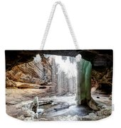 0938 Lasalle Falls - Starved Rock State Park Weekender Tote Bag