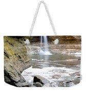 0941 Cascade Falls - Matthiessen State Park Weekender Tote Bag