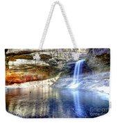 0943 Cascade Falls - Matthiessen State Park Weekender Tote Bag