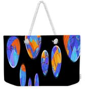 0986 Abstract Thought Weekender Tote Bag