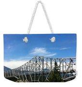 Bridge Of Gods Weekender Tote Bag