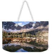 Cirque Of The Towers In Lonesome Lake 5 Weekender Tote Bag