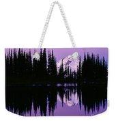 Glacier Peak  In Image Lake Weekender Tote Bag