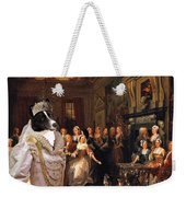 Karelian Bear Dog Art Canvas Print Weekender Tote Bag