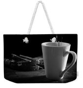 Workman's Coffee Break Weekender Tote Bag