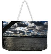 001 Grand Island Bridge Series Weekender Tote Bag