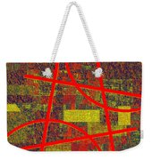 0225 Abstract Thought Weekender Tote Bag