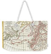 1772 Vaugondy  Diderot Map Of Alaska The Pacific Northwest And The Northwest Passage Weekender Tote Bag