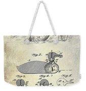 1902 Duck Decoy Patent Drawing Weekender Tote Bag