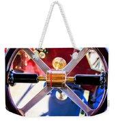 1907 Panhard Et Levassor Demi Toneau 38 Hp Steering Wheel Weekender Tote Bag by Jill Reger