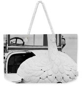 1910 Brooke Swan Car Weekender Tote Bag