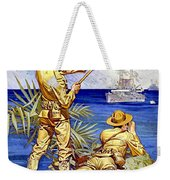 1917 - United States Marines Recruiting Poster - World War One - Color Weekender Tote Bag
