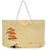 1925 - Lincoln Advertisement - Color Weekender Tote Bag