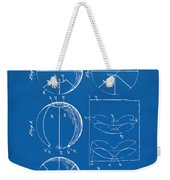 1929 Basketball Patent Artwork - Blueprint Weekender Tote Bag