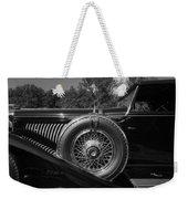 1929 Duesenberg Model J Covertible Coupe By Murphy Weekender Tote Bag